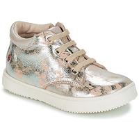Sko Pige Lave sneakers GBB SACHA Beige / Sølv
