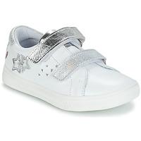 Sko Pige Lave sneakers GBB SANDRA Hvid / Sølv