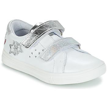 Sko Pige Chikke støvler GBB SANDRA Hvid / Sølv