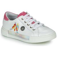 Sko Pige Lave sneakers Catimini SYLPHE Hvid / Pink