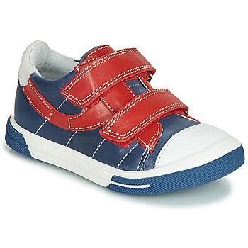 Sko Dreng Lave sneakers Catimini SORBIER Blå / Rød