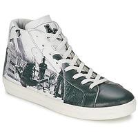 Sko Herre Høje sneakers American College BREAKDANCE Sort / Hvid