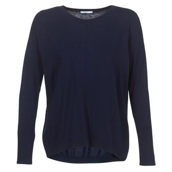 textil Dame Pullovere Esprit PUPULO Blå
