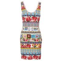 textil Dame Korte kjoler Desigual OCONDE Flerfarvet