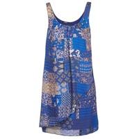 textil Dame Korte kjoler Desigual OFFOELA Blå