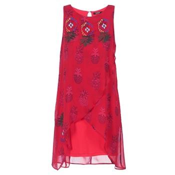 textil Dame Korte kjoler Desigual DORIJE Rød