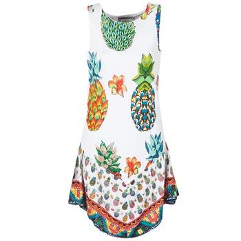 textil Dame Korte kjoler Desigual HOQLER Hvid