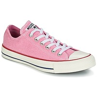 Sko Dame Lave sneakers Converse Chuck Taylor All Star Ox Stone Wash Pink