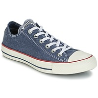 Sko Lave sneakers Converse Chuck Taylor All Star Ox Stone Wash Marineblå