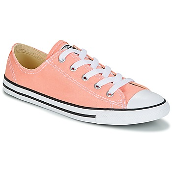 Sko Dame Lave sneakers Converse Chuck Taylor All Star Dainty Ox Canvas Color Pink