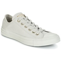 Sko Dame Lave sneakers Converse Chuck Taylor All Star Ox Mono Glam Canvas Color Grå
