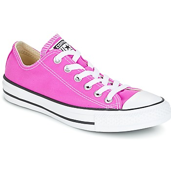 Sko Dame Lave sneakers Converse Chuck Taylor All Star Ox Seasonal Colors Pink