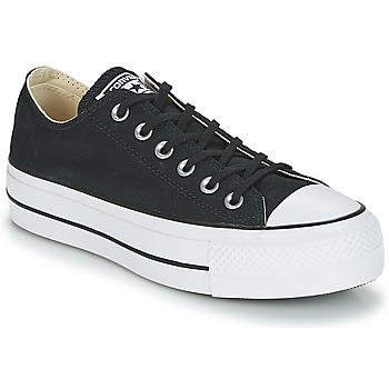 Sko Dame Lave sneakers Converse Chuck Taylor All Star Lift Clean Ox Core Canvas Sort
