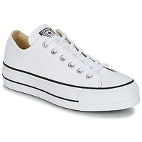 Sko Dame Lave sneakers Converse Chuck Taylor All Star Lift Clean Ox Core Canvas Hvid