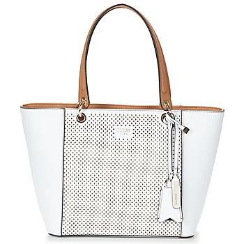 Tasker Dame Shopping Guess KAMRYN TOTE Hvid