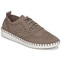 Sko Dame Snøresko LPB Shoes DIVA Muldvarpegrå