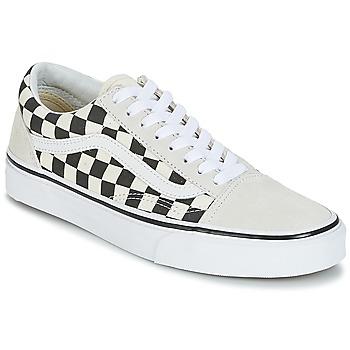 Sko Lave sneakers Vans OLD SKOOL Hvid / Sort