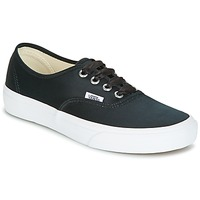Sko Dame Lave sneakers Vans AUTHENTIC Sort