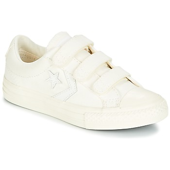 Sko Dreng Lave sneakers Converse Star Player EV V Ox March Canvas Hvid