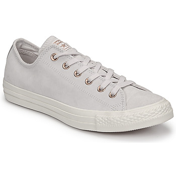 Sko Dame Lave sneakers Converse Chuck Taylor All Star-Ox Pink / Hvid