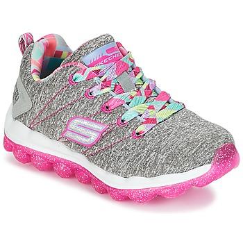 Sko Pige Lave sneakers Skechers SKECH-AIR Grå / Pink
