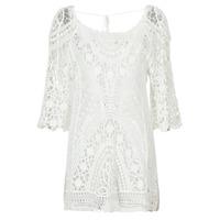 textil Dame Korte kjoler Banana Moon MAGBY DREAMLAND Hvid
