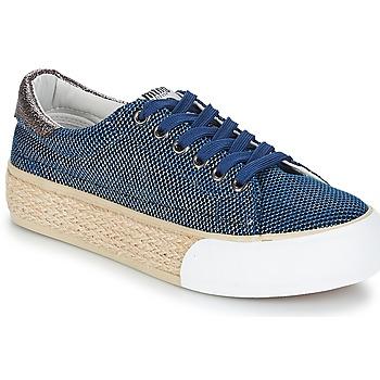 Sko Dame Lave sneakers MTNG ERTIMOR Marineblå