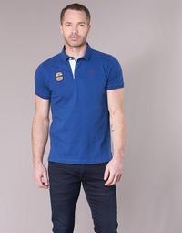 textil Herre Polo-t-shirts m. korte ærmer Serge Blanco DOSSART 15 Blå