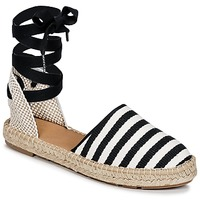 Sko Dame Espadriller Betty London INANO Sort / Hvid