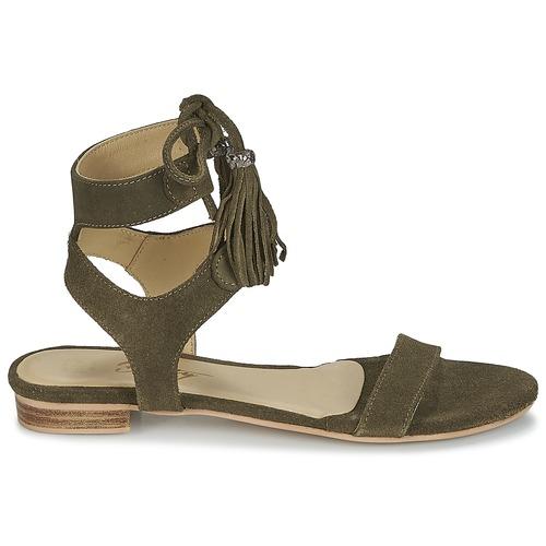 IKARA  Betty London  sandaler  dame  kaki pflqF