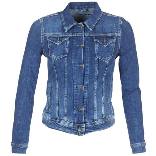 textil Dame Cowboyjakker Pepe jeans THRIFT Blå / Medium