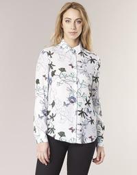 textil Dame Skjorter / Skjortebluser Tommy Hilfiger MIRAN-SHIRT-LS Hvid