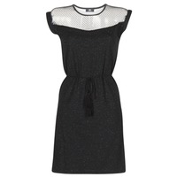 textil Dame Korte kjoler Le Temps des Cerises JURIETO Sort