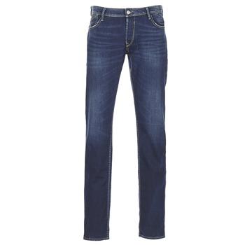 textil Herre Smalle jeans Le Temps des Cerises LOURITA Blå