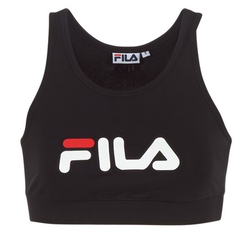 textil Dame T-shirts m. korte ærmer Fila OTHER CROP TOP Sort