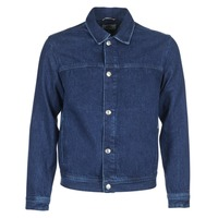 textil Herre Cowboyjakker Tommy Jeans TJM STREET TRUCKER JKT Blå / Medium