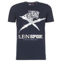 textil Herre T-shirts m. korte ærmer Philipp Plein Sport BORIS Marineblå / Sølv