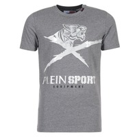 textil Herre T-shirts m. korte ærmer Philipp Plein Sport BORIS Grå / Sølv