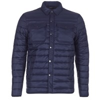 textil Herre Dynejakker Schott NIELS Marineblå