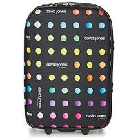 Tasker Softcase kufferter David Jones PICOLO 35L Sort / Flerfarvet