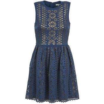 textil Dame Korte kjoler Manoush NEOPRENE Blå / Gylden