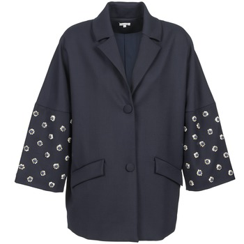 textil Dame Frakker Manoush CABOCHON Marineblå