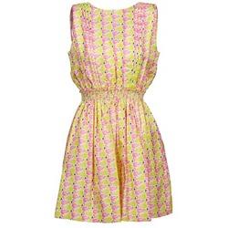 textil Dame Korte kjoler Manoush FLAMINGO Pink / Fluo / Gul