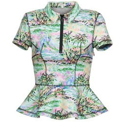 textil Dame Toppe / Bluser Manoush PALMIER Sort