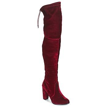 Sko Dame Lårhøje støvler Buffalo  Rød