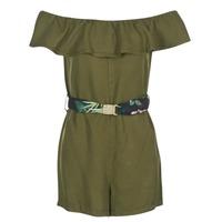textil Dame Korte kjoler Guess RESPUNNI Kaki