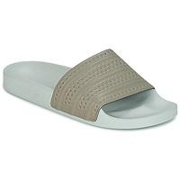 Sko badesandaler adidas Originals ADILETTE Beige / Grøn