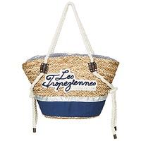 Tasker Dame Shopping Les Tropéziennes par M Belarbi AUDENGE Beige / Marineblå
