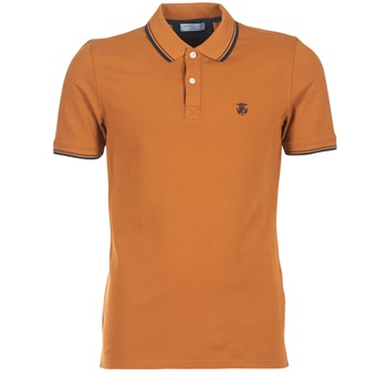 textil Herre Polo-t-shirts m. korte ærmer Selected SEASON Brun