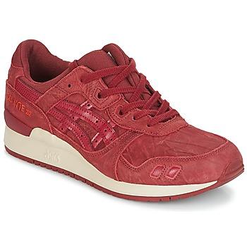 Sko Herre Lave sneakers Asics GEL-LYTE III Bordeaux